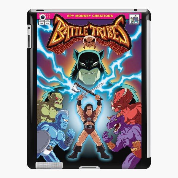 Battle Tribes Illustration - Comic Style iPad Snap Case