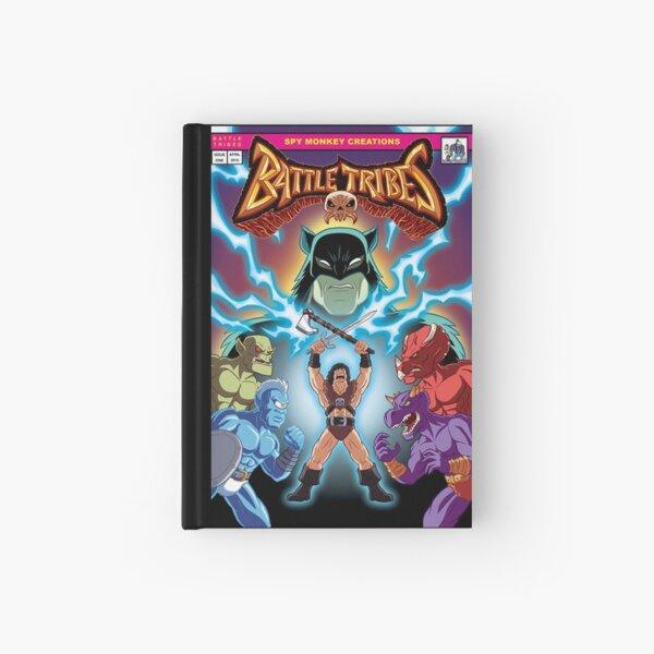 Battle Tribes Illustration - Comic Style Hardcover Journal