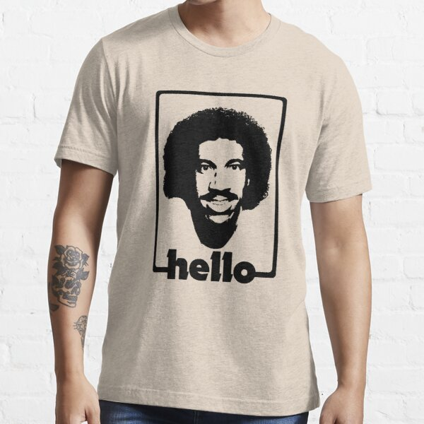Hello - The Black Stencil Essential T-Shirt
