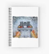 Back To The Future - OUTATIME Spiral Notebook