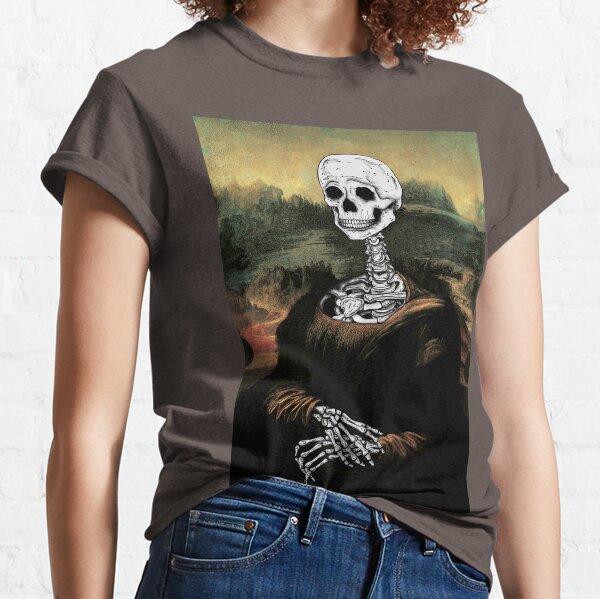 """La Gioconda""- Digital skeleton version Classic T-Shirt"