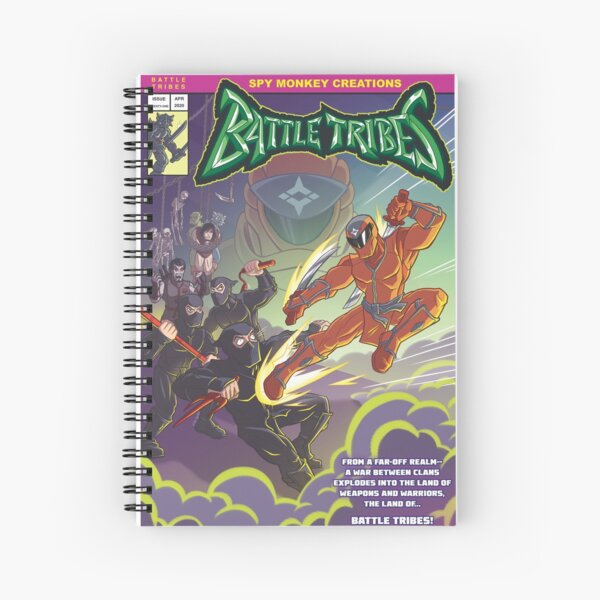 Battle Tribes - Enter the Ninja! Spiral Notebook