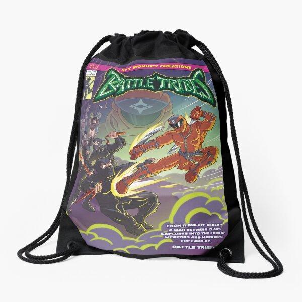 Battle Tribes - Enter the Ninja! Drawstring Bag