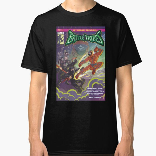 Battle Tribes - Enter the Ninja! Classic T-Shirt