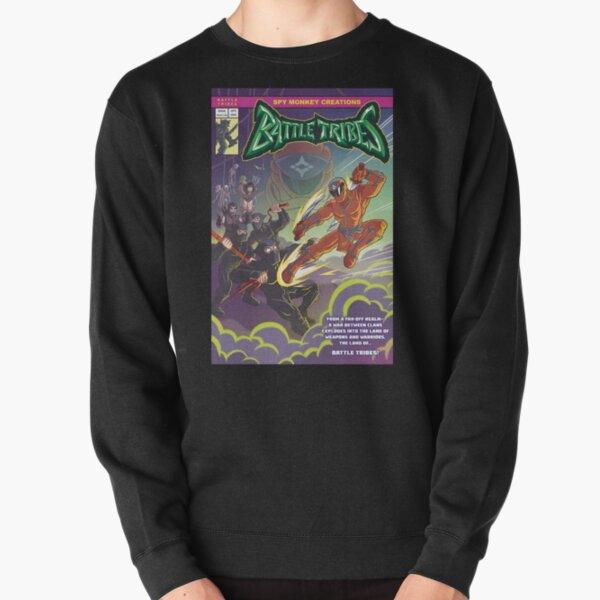 Battle Tribes - Enter the Ninja! Pullover Sweatshirt