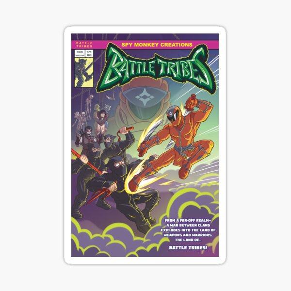 Battle Tribes - Enter the Ninja! Sticker
