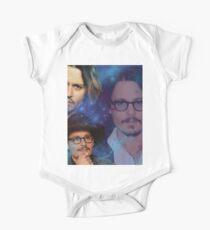johnny depp2 Short Sleeve Baby One-Piece
