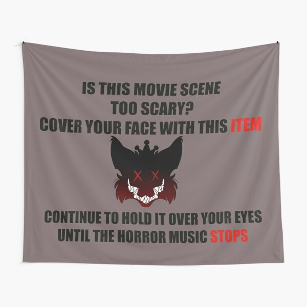 Horror Protective Gear  Tapestry