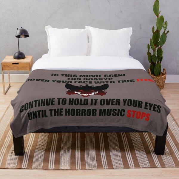Horror Protective Gear  Throw Blanket