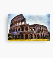 The Colosseum, Rome, Italy  Canvas Print