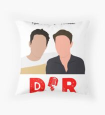Doin' It Raw Podcast Throw Pillow