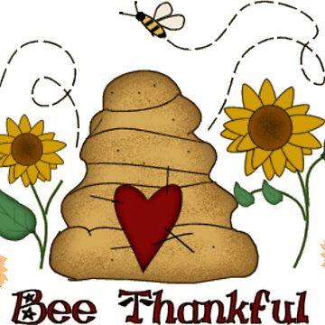 Bee Thankful  by Dozi
