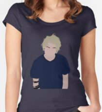 Michael Clifford Minimalist Women's Fitted Scoop T-Shirt