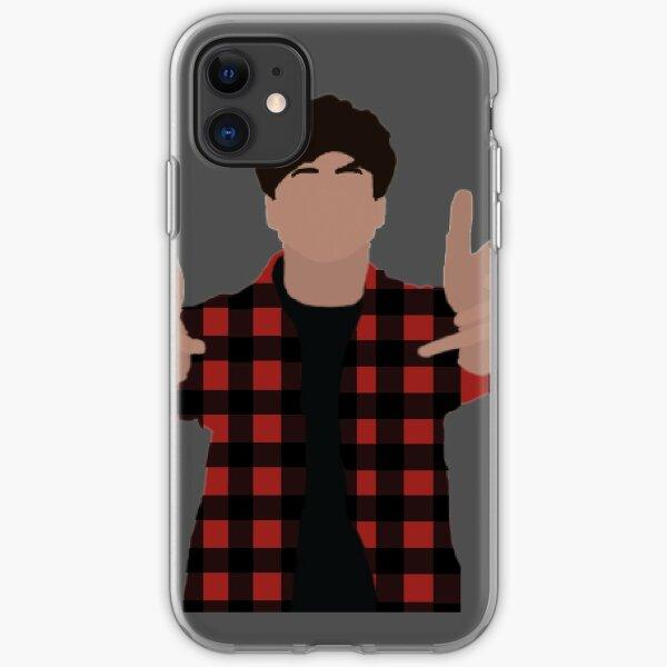 Calum Hood Minimalist iPhone Soft Case