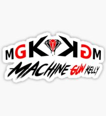 Machine Gun Kellis. (MGK) Sticker