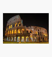 Coliseum in Rome Photographic Print