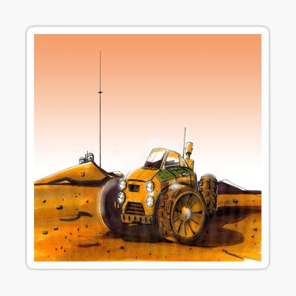 Mars Explorer Sticker