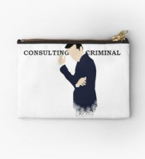 Consulting Criminal Studio Pouch