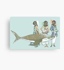 In Oceanic Fashion Canvas Print