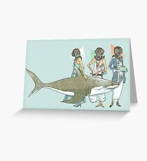In Oceanic Fashion Greeting Card