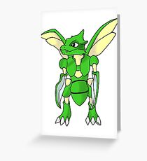 Scyther Greeting Card