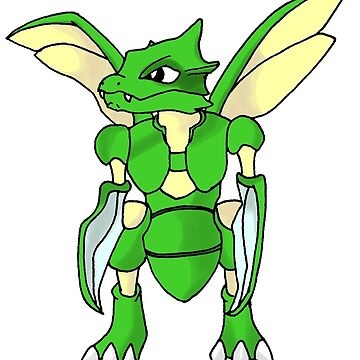 Scyther by Qutone