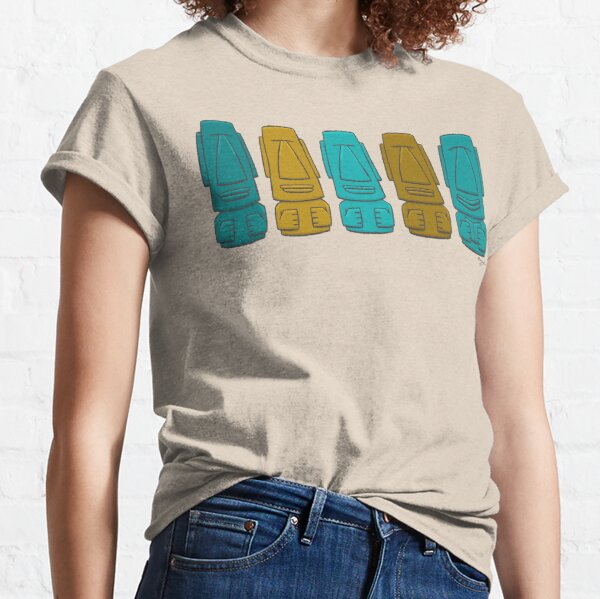 Happy Reader Easter Island Heads! Classic T-Shirt