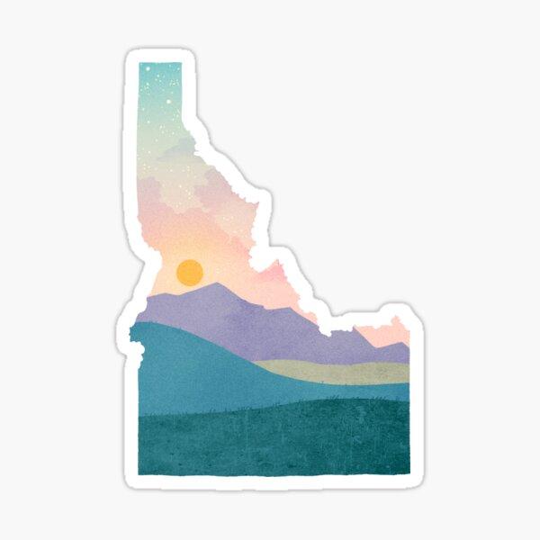 Idaho Sunset Sticker
