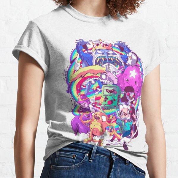 Hora de Aventuras - Doodle líquido Camiseta clásica