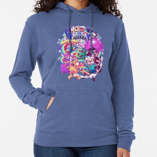 Adventure Time - Liquid Doodle  Lightweight Hoodie