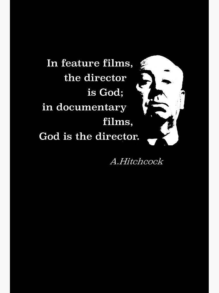 Director is God Hitchcock by FilmFit