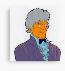 Doctor Who - Jon Pertwee Canvas Print