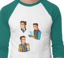 Rhys the Company Man Sticker Set TFTBL Men's Baseball ¾ T-Shirt