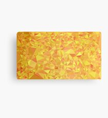 Gold Prism Canvas Print