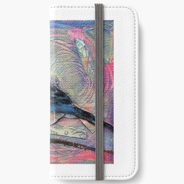 bluebird of happiness iPhone Wallet