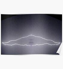 Lightning Art 52 Poster