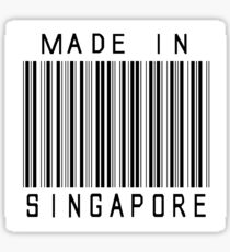 Made in Singapore Sticker