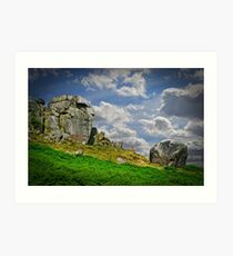 The Cow and Calf Art Print