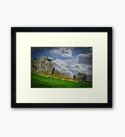 The Cow and Calf Framed Print
