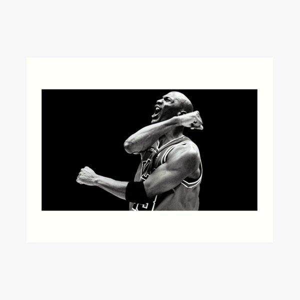 Michael Jordan 004 Lámina artística