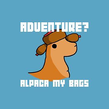 Alpaca my bags by PaperSheep