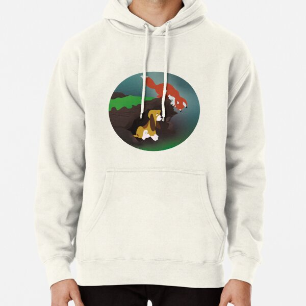 The Fox and The Hound Pullover Hoodie