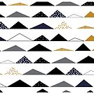 mountains of triangles by Pip Pottage