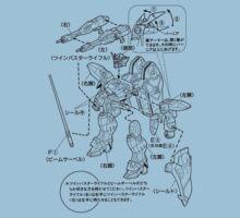GUNDAM INSTRUCTIONS | Unisex T-Shirt