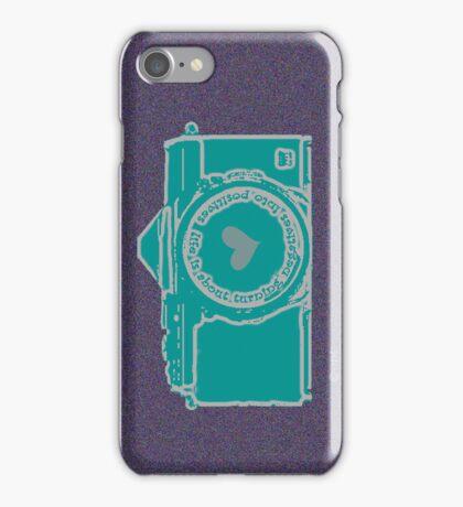 turning negatives into positives iPhone Case/Skin