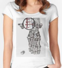 Bone_If_I'd Women's Fitted Scoop T-Shirt