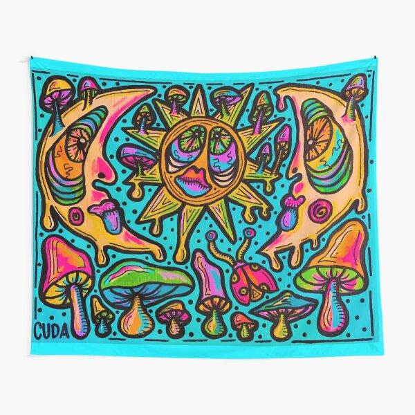 Drippy Moon 2 Tapestry