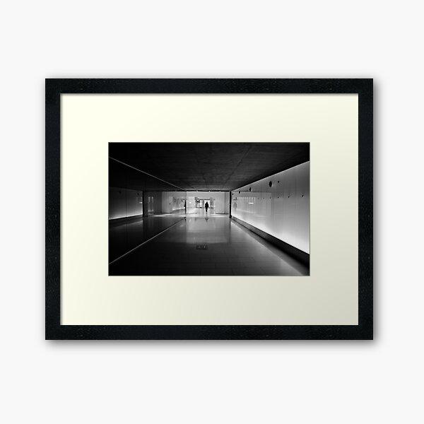Urban Solitude Framed Art Print