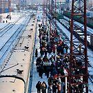 Mongolian moving market at Ilansky station - Ilansky District - Siberia by UniSoul