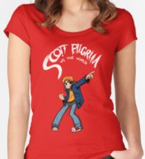 Scott Pilgrim Women's Fitted Scoop T-Shirt